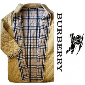 Authentic Burberry Diamond Quilted Coat